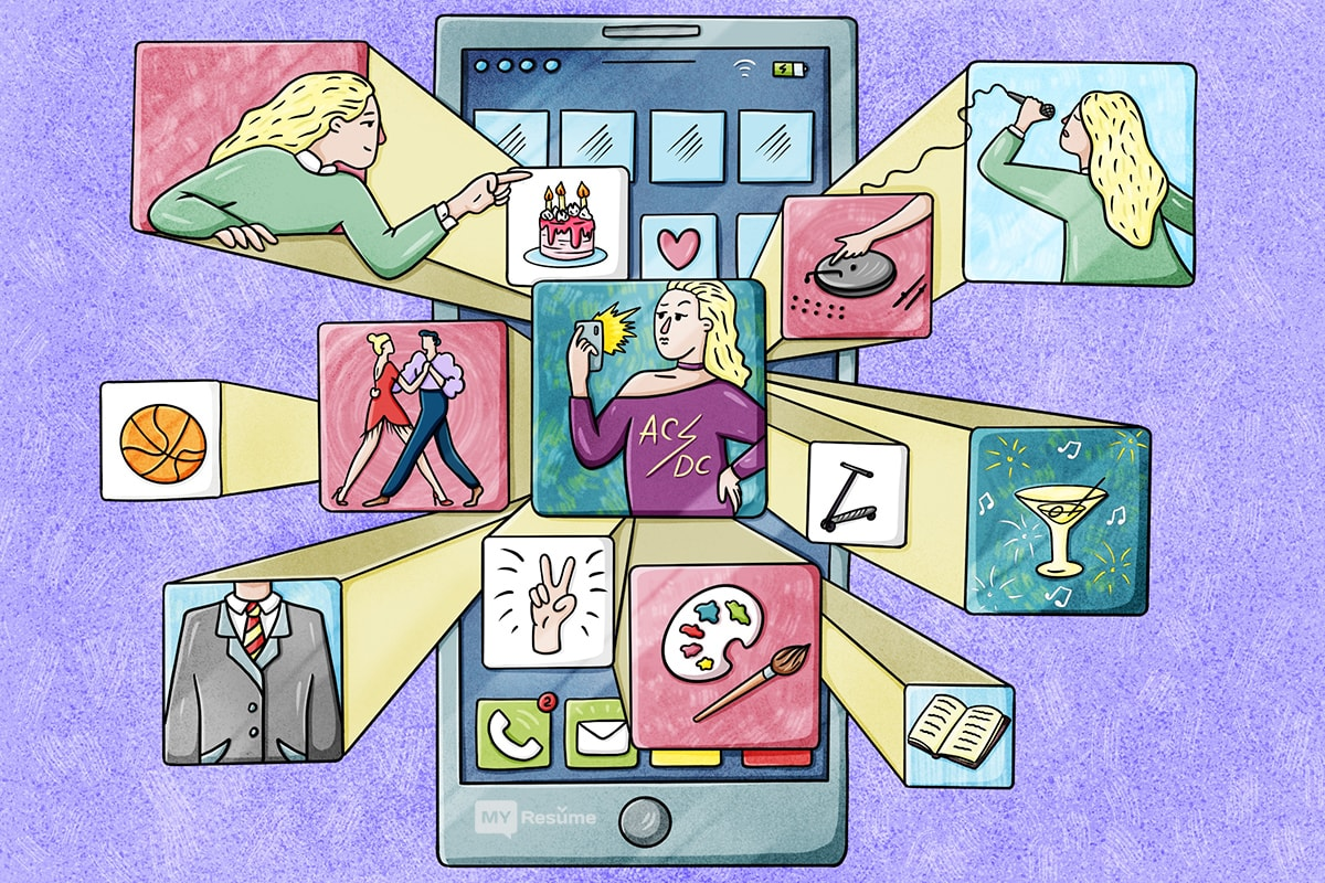 как создать резюме: социальные сети, vk.com, facebook, аккаунты, примеры